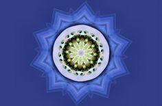 Leafy Mandala 1 - artwork, abstract, painting, leaf, art, mandala, wide screen