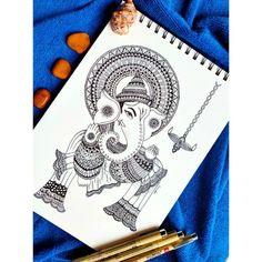 Pen Art, Mandala Art, Amazing Art, Art Work, Sketch, Cards, Design, Artwork, Sketch Drawing