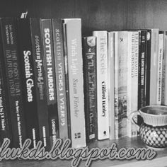 Day 22 of #ksdphotochallenge just a few of the #books that feed my #scottish obsession