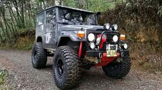 FJ40 - ready for just about anything...