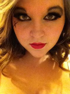 Simple pirate makeup | Camp outfit | Pinterest | Pirate makeup ...