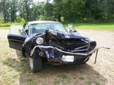 ... , daughter wrecked the 65 coupe, what now? -