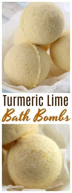 Turmeric Lime bath bombs that smell incredibly amazing and are so easy to DIY yourself at home! They make a fabulous gift! Diy Hanging Shelves, Diy Wall Shelves, Floating Shelves Diy, Kitchen Shelves, Mason Jar Diy, Mason Jar Crafts, Bottle Crafts, Galaxy Bath Bombs, Bombe Recipe