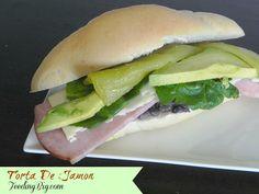 Torta De Jamon - Mexican Ham #Sandwich