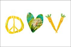 Peace, Love, Vegan