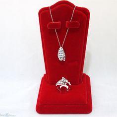 Sapphire and Diamond Panther Set