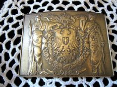 Visntage Brass Belt Buckle  Belt Buckle  by JewelsOfHighElegance, $37.50