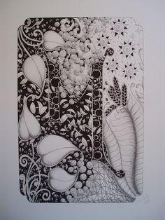 Jane Monk Studio - Longarm Machine Quilting & Teaching the Art of Zentangle®: February 2012