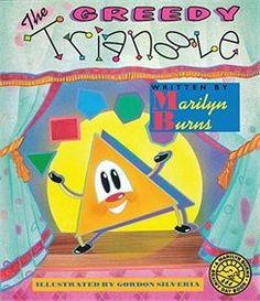 """Greedy Triangle Video read aloud  Love this book and still use it with fifth graders to """"refresh"""" their memories when it comes to polygons!"""