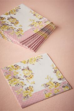 Sunday Luncheon Napkins (set of 20) from BHLDN