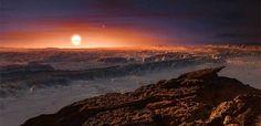 Un estudio apunta a que el planeta Próxima b es susceptible de acoger agua - Pulso de San Luis (Comunicado de prensa)