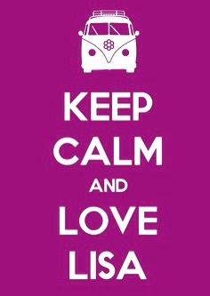 Love Lisa... ha ha ha :-)