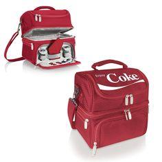 Picnic Time Pranzo Lunch Tote (Coca-Cola) - x x (Picnic Time), Red, Oniva(Fabric) Lunch Box Cooler, Coca Cola Decor, Always Coca Cola, World Of Coca Cola, Zeina, Insulated Lunch Box, Lunch Tote, Lunch Bags, Picnic Time