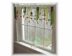 Amber Manzanita Morning  Stained Glass by LittleLaLaOriginals
