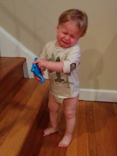 """""""We told him that his dinosaur is blue."""" Submitted By: Mom K. Location: District of Columbia, United States"""