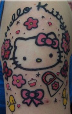 hello kitty tattoo | Tumblr