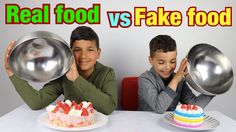 Actual Food stuff VS Pretend foods Squishy Challenge : les boys tv - http://howto.hifow.com/actual-food-stuff-vs-pretend-foods-squishy-challenge-les-boys-tv/