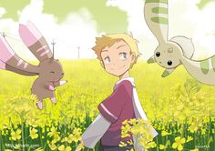 Field and digimon by Charln.deviantart.com on @deviantART