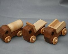 Handmade Wooden Toy Truck Pickup Truck from the Play Pal