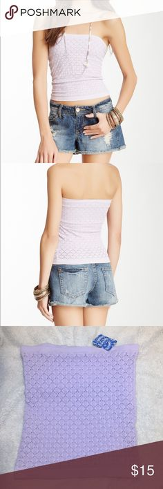 Free People tube top Free People tube top in lavender purple, size XS/S! Free People Tops