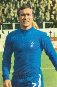 Ron Harris of Chelsea in 1970s, Christmas Sweaters, Chelsea, Men Sweater, Football, Fashion, Hs Football, Moda, Futbol