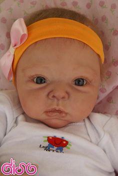 Cristal muñeca bebe reborn