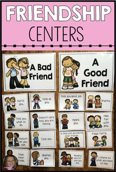 These friendship activities for kids will help elementary students learn about what a good friend is, and how they can be one. These are perfect to use as school counseling centers in your classroom guidance lessons or small groups. These activities will help students learn and practice important social skills.