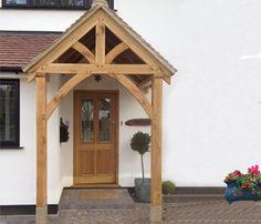 The Grosvenor oak door canopy