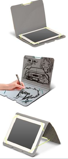 Obal na tablet  Kazeto. Můžete na něj kreslit. Kazeto tablet cover. You may  draw pictures. f5eee56db06
