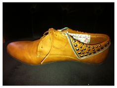 Um, these need to come in my size. Studded detail Oxford