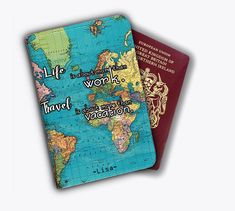Us Passport Case Magic Books Glasses Hat Socks And Boots Stylish Pu Leather Travel Accessories Color Passport Cover For Women Men