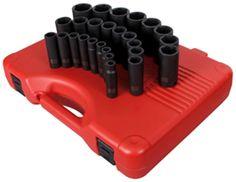 Sunex 2646 1/2-Inch Drive Metric Impact Socket Set, 26-Piece - - Amazon.com