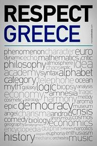 Every language uses Greek words or words that have a Greek root Greece Country, Old Posters, Learn Greek, Greek Language, Greek Culture, Greek Words, Crete, Corfu, Greek Quotes