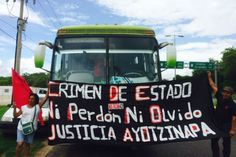 AYOTZINAPA: CARAVANA SUR-SURESTE EN TUXTLA GUTIÉRREZ, CHIAPAS