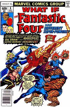 marvel comics, fantastic four what if....
