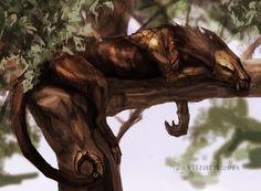 .:On the tree:. by Vilzard.deviantart.com on @DeviantArt