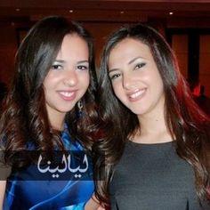 صورة إيمي مع دنيا سمير غانم في آخر أيام حملها