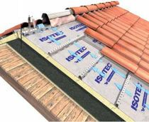 rigid acoustic insulation panel polyurethane and rubber (for roofing) X-42 Brianza Plastica - http://www.archiexpo.es/prod/brianza-plastica/paneles-aislantes-rigidos-de-poliuretano-para-tejado-60170-154817.html#