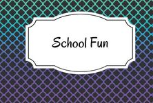 Fun ideas for school - teaching and more.