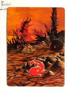Mountain - Full Art Land - Revelen's Light Altered Art Magic Card #WizardsoftheCoast
