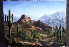 Watch Kevin as he paints this scenic desert view. Go to www.paintwithkevin.com for information about DVDs, brushes and paint.