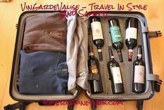 Reverse Wine Snob reviews the VinGardeValise Grande. The days of packing your wine in dirty clothes and hoping for the best when you travel are over!