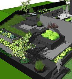 Designing gardens non stop these days🍀🌿🌱 :-) 💚 my job! #gardendesigner…