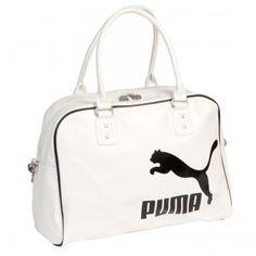 Puma White Heritage Grip Handbag www.BagLane.com