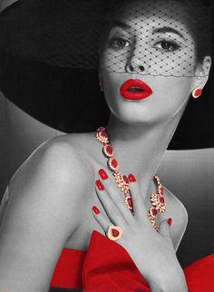 Ruby Red High Fashion