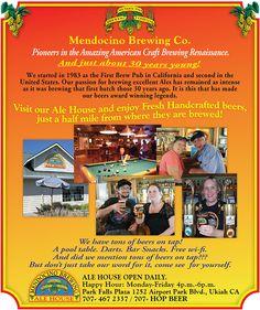 Mendocino Brewing Ale Mendocino Brewing Co Inc       1601 Airport Rd, Ukiah, CA 0.7 mi S  (707) 463-2627