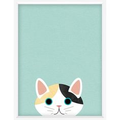 Cute little cat illustration art print-41