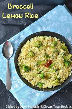 broccoli lemon rice