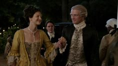 Governor's Ball - Jamie and Claire - Outlander_Starz Season 3 Voyager - Episode 312 The Bakra - December 3rd, 2017