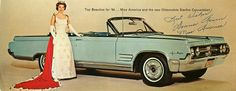 1964 Oldsmobile Starfire Convertible with Miss America | Flickr - Photo Sharing!
